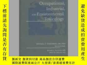 二手書博民逛書店Occupational,罕見Industrial and Environmental Toxicology-職業