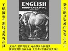 二手書博民逛書店English罕見Wood-Engraving 1900-195