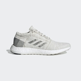 ADIDAS PureBOOST GO [B37802] 男鞋 運動 休閒 慢跑 輕量 針織 避震 支撐 愛迪達 灰白