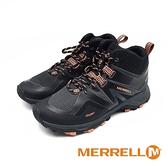 MERRELL (男) MQM FLEX 2 MID GORE-TEX高筒健走登山鞋 - 黑