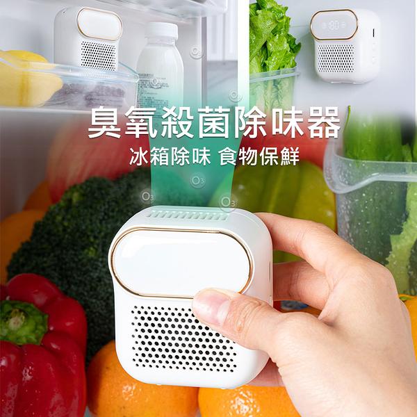 冰箱除臭器/臭氧機 食物保鮮 家用淨化器 臭氧殺菌 去異味/淨化空氣/廁所/廚房 (USB充電)