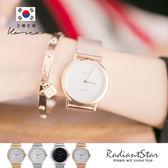 正韓STACCATO閃耀晨光晶燦金屬米蘭鍊帶錶 手錶【WST380M】☆璀璨之星