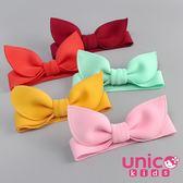 UNICO 大人小孩通用 單色可調大小太空棉蝴蝶結髮帶