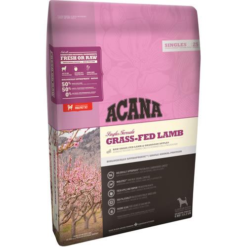 【寵物王國】ACANA愛肯拿-單一蛋白低敏無穀配方(美膚羊肉+蘋果)340g