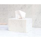面紙盒天然大理石高檔酒店簡約裝飾【奇趣小屋】