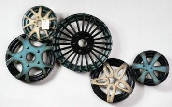 [協貿國際]   齒輪裝飾品咖啡廳壁飾掛飾  (1組入)