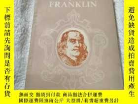 二手書博民逛書店BENJAMIN罕見FRANKLIN 本傑明•富蘭克林自傳(英文