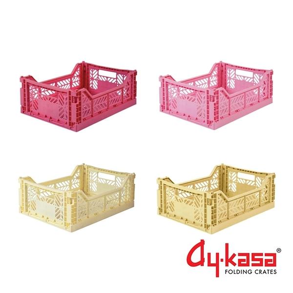 Ay-kasa M土耳其籃4件組-草莓拿鐵(櫻桃玫瑰、芭比粉、香蕉奶昔、香草)