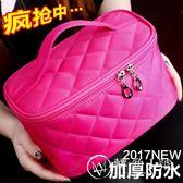 旅行大容量少女心化妝包專柜贈品化妝箱便攜韓國簡約收納包洗漱包