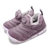 Nike 毛毛蟲鞋 Dynamo Free SE TD 紫 白 嬰兒鞋 學步鞋 小童鞋【PUMP306】 AA7217-501