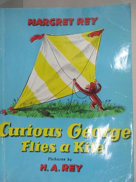 【書寶二手書T7/少年童書_D7K】Curious George Flies a Kite_Rey, H. A.,Rey, Margret