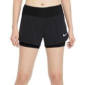 Nike AS W Eclipse 2IN1 Short 女 黑 慢跑 運動 健身 訓練 短褲 CZ9571-010