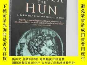 二手書博民逛書店Attila罕見The Hun: A Barbarian Kin