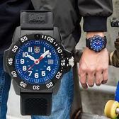 LUMINOX 雷明時 3503.L NAVY SEAL 海豹突擊隊二代腕錶/藍 45mm 熱賣中!