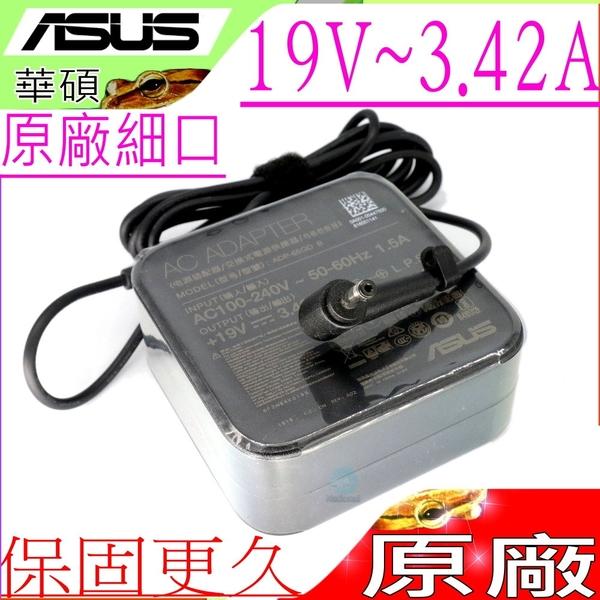 ASUS 19V,3.42A,65W 充電器(原廠)-華碩 TP412,TP412U,TP412UR,TP410,TP410U,TP410UR,X712FB,ADP-65DW A