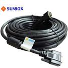 SUNBOX 5米VGA線 支援1920*1080p (Full HD) 高解晰度