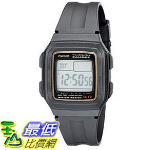[美國直購] 手錶 Casio Mens F201WA-9A Multi-Function Alarm Sports Watch