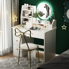 梳妝台 梳妝臺 臥室家用小戶型化妝臺收納柜一體現代簡約網紅風化妝桌 2021新款