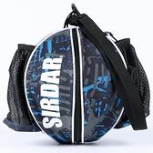 籃球袋 正品薩達單雙肩手提籃球包訓練運動背包籃球袋網兜足球排球網帶袋 霓裳細軟