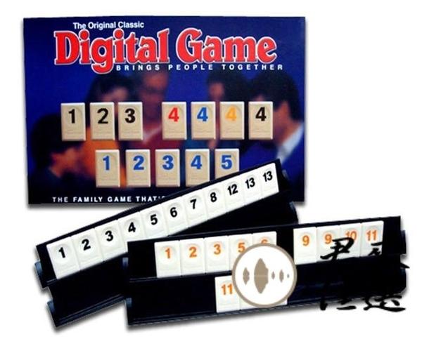 數字麻將牌桌游以色列麻將拉標準版拉蜜【君來佳選】