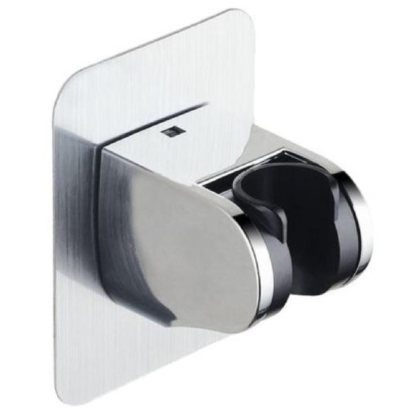 無痕多功能蓮蓬頭架 花灑支架 蓮蓬頭掛架 無痕掛架 角度可調 超強黏性 免鑽孔(V50-2408)