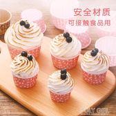 蛋糕杯 【展藝蛋糕紙杯24只】馬芬杯耐高溫烘焙面包托模具 極客玩家