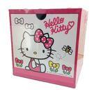 【震撼精品百貨】Hello Kitty 凱蒂貓~單抽收納盒~桃【共1款】