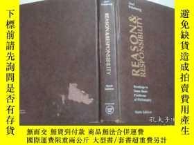 二手書博民逛書店Reason罕見and responsibility readings in some basic problem