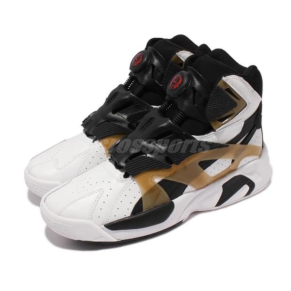Puma 籃球鞋 Disc System Weapon OG 白 黑 高筒 復刻 男鞋【ACS】 373344-01