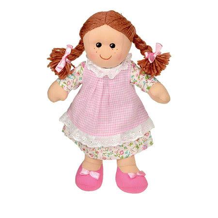 手工布娃娃-瑪歌 25cm【Les Petites Marie】