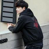 夾克 男士外套春秋季新款韓版潮流修身帥氣學生休閒衣服薄男裝