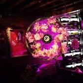 吊燈 繁花酒吧壁燈音樂裝飾壁燈車輪燈鐵藝植物個性壁燈 現貨快出YJT