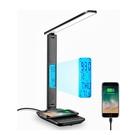 [2美國直購] LAOPAO 可折疊檯燈 TX26 3種燈源 5段調光 支援手機無線充電 黑/白