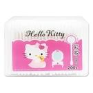 Hello Kitty 彩妝塑軸棉花棒200支(盒)【小三美日】