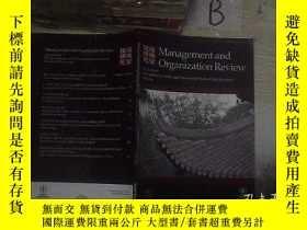 二手書博民逛書店MANAGEMENT罕見AND ORGANIZATION REVIEW NOVEMBER 2012 VOLUME8