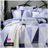 100%天絲棉/40支【兩用被套+薄床包組】5*6.2尺*╮☆御芙專櫃『摩卡之愛』四件套寢具/標準雙人
