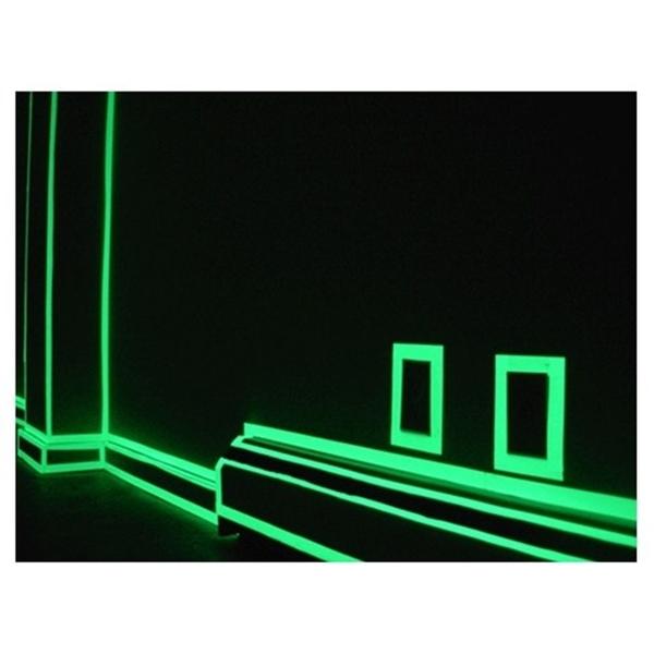 [拉拉百貨] 400cm 蓄光膜 樓梯 夜光 發光條 螢光貼紙 發光膠帶 車身安全警示 裝飾 夜光牆貼 車貼