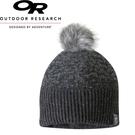 【Outdoor Research 美國 EFFIE BEANIE女童保暖壓克力混紡帽《黑》】262338/絨球/毛帽/針織帽
