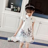 女童旗袍中國風連身裙