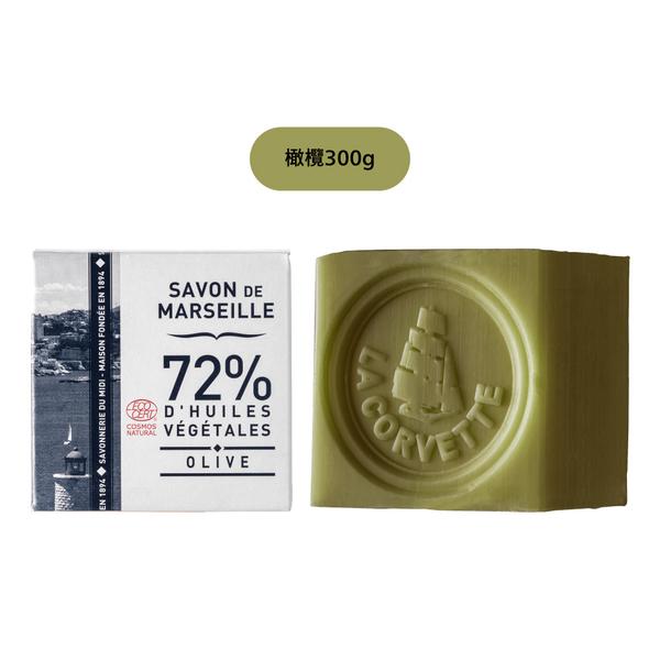 伊聖詩|珂芬堤LA CORVETTE 經典盒裝馬賽皂 300g