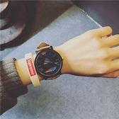 手錶男女學生韓版簡約潮流ulzzang休閒大氣黑白個性情侶一對【中秋佳品】
