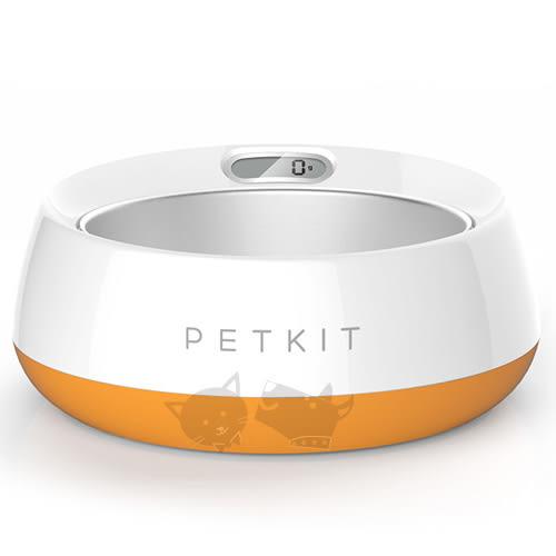 [寵樂子]《PETKIT》佩奇寵物智能食碗 寵物碗(中大型犬用)橙色