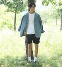 【找到自己】韓國 正版 MIS.CO 牛仔外套 寬鬆  雙肩口袋 文藝 文青