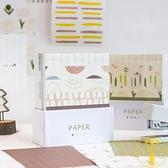 2個裝 便簽紙奶茶鋪子盒裝創意無粘性素材紙便條紙【雲木雜貨】