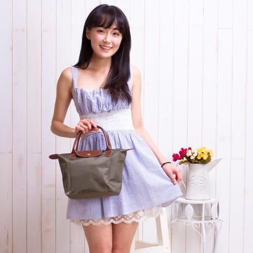 【現貨】手提包 輕量時尚防潑水尼龍手提包(小尺寸) 水餃包 托特包