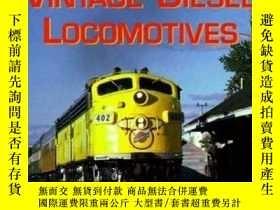 二手書博民逛書店Vintage罕見Diesel Locomotives (Enthusiast Color Series)-老式內