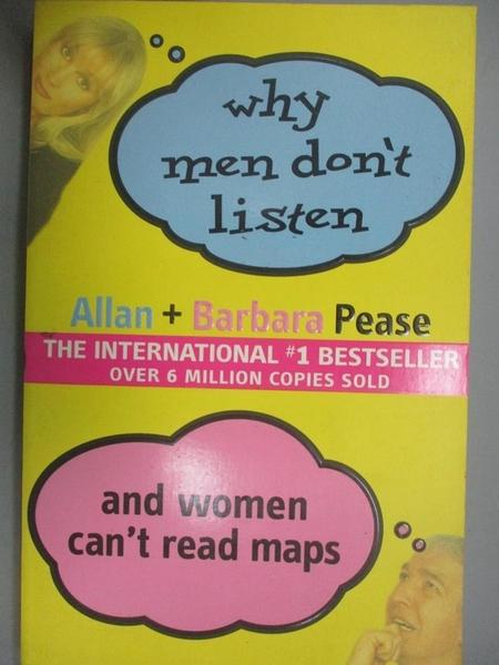 【書寶二手書T3/兩性關係_XET】Why Men Don t Listen and Women Can t Read
