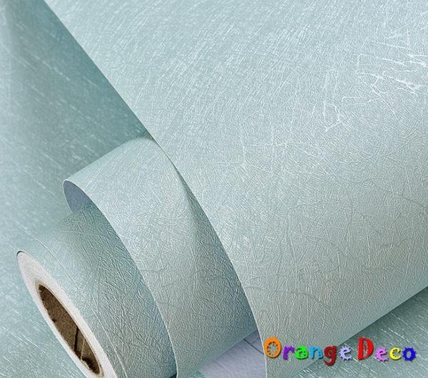 蠶絲自黏壁紙【橘果設計】61*500公分長 加厚防水桌面家具翻新牆貼壁貼室內設計 裝潢