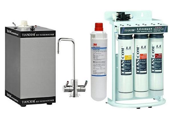[天康] TK-3M(EP-25) 極淨便捷生飲淨水器 + (CT-304) 廚下型加熱器 3公升