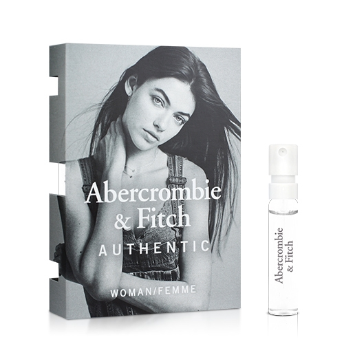Abercrombie & Fitch 真我女性淡香精針管(2ml)【ZZshopping購物網】